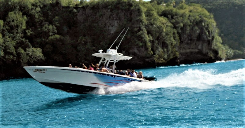 Spencer Ambrose Tours, Speedboat tours, St. Lucia