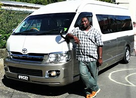 Transfer Service with Spencer Ambrose Tours, St. Lucia