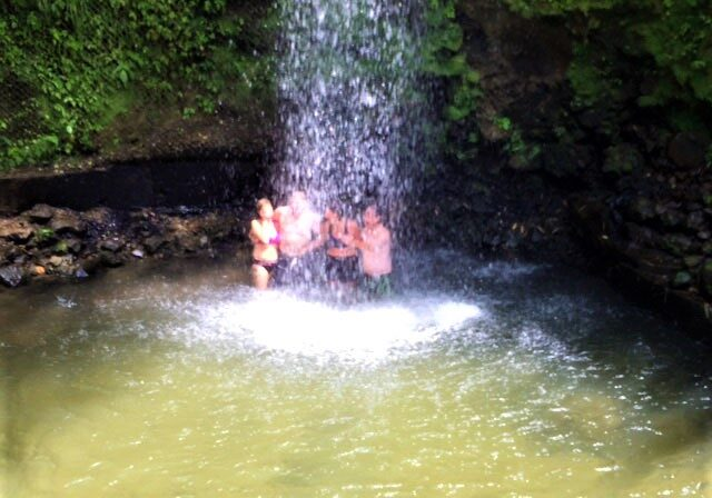 Toraille Waterfall, Spencer Ambrose Tours, St. Lucia