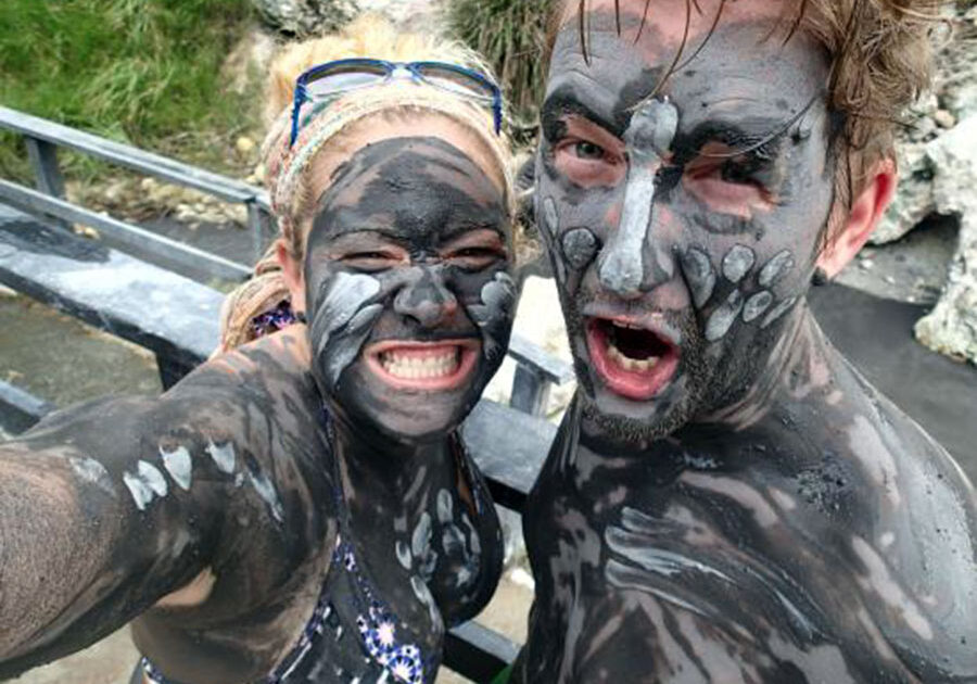 Mud Baths, Spencer Ambrose Tours, St. Lucia